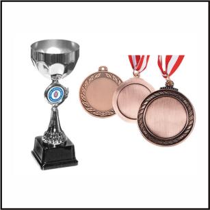 Ödül Kupaları - Madalya